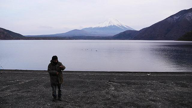 富士山は寒い!