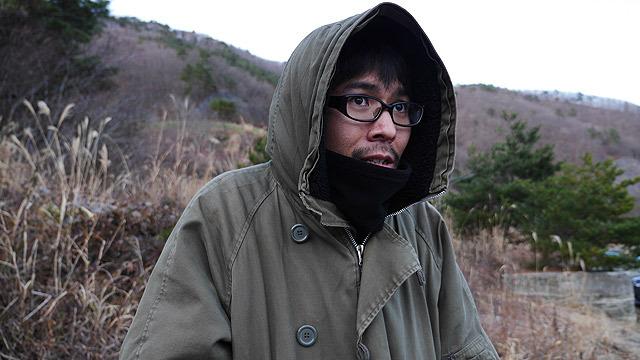 寒くてなぞの表情を一日中していた