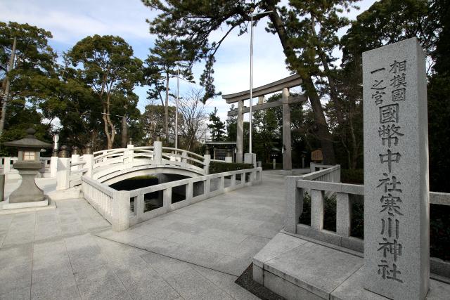 相模国の一の宮ということもあり、立派な神社だ