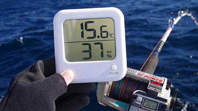 そりゃもう寒いだろうと張り切って船に乗ったけど、そうでもなかった!