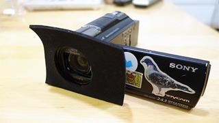 ビデオカメラも