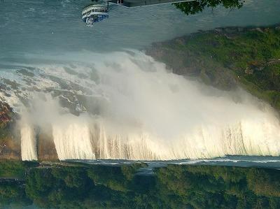 出ましたナイアガラの滝(アメリカ合衆国)
