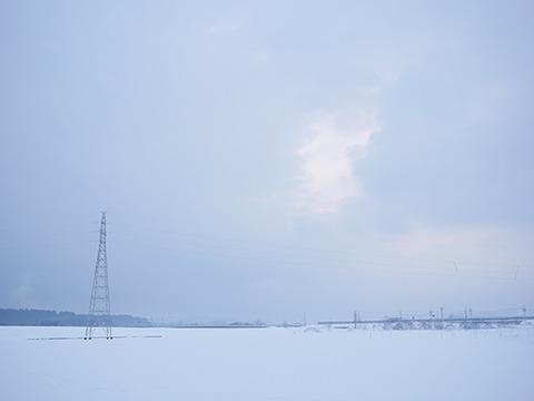 昨年末の秋田はよく雪がふったそうだ。食べ放題である