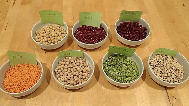 これらの豆をきな粉にします。