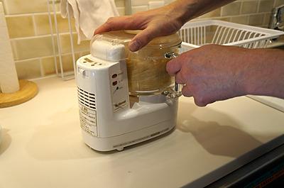 ミルサーのような粉末状まですりつぶしてくれる機械があるとより楽です。