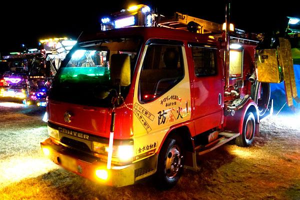 そして、デコ消防車……いいのか!?