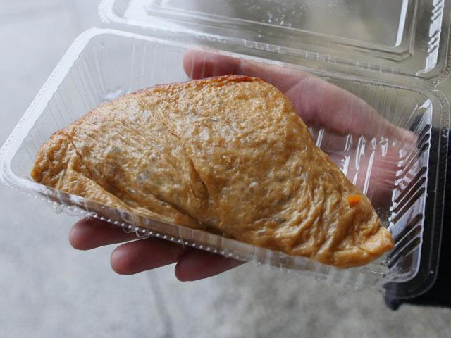 さらに鳥取から、謎の「いただき」なる食べ物。とにかく巨大!