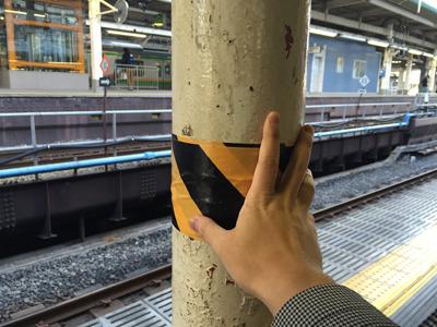 漱石先生も触ったかもしれない柱。100年の時を経て、いま邂逅