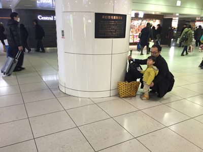 現在の東北新幹線乗り場前付近。旅行者が行き交うこんな浮かれた空間に、そんな戦慄の歴史があったとは