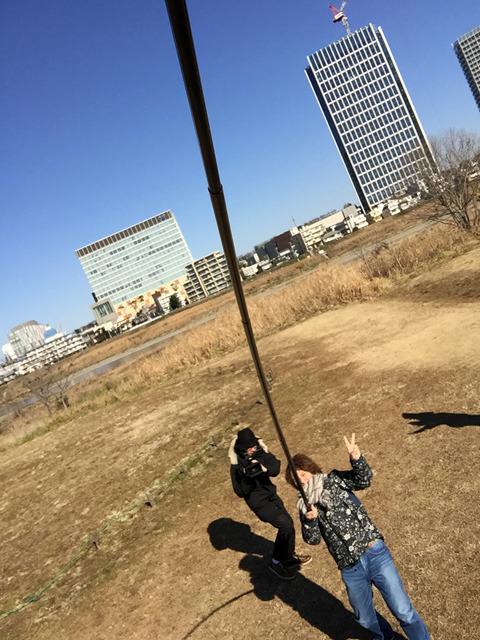 これが5mの自撮り棒が実現した景色である。