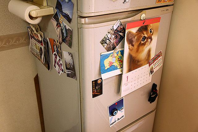 既にとっちらかってる我が家の冷蔵庫。