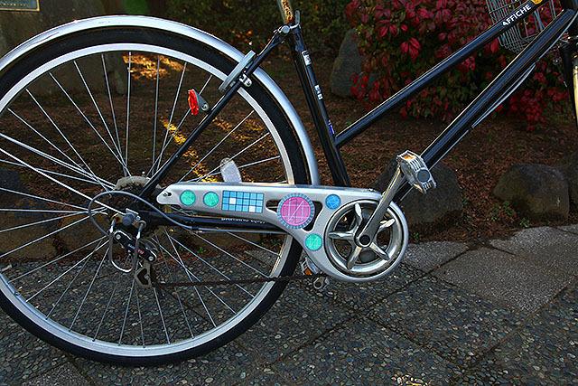 こういう自転車、過去に見た覚えがある。