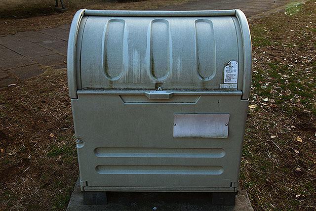 たぶんゴミ箱。