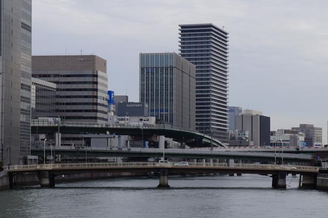 ぎゃっ!玉江橋からの眺め、かっこいい!