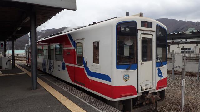 あまちゃんの列車だ!