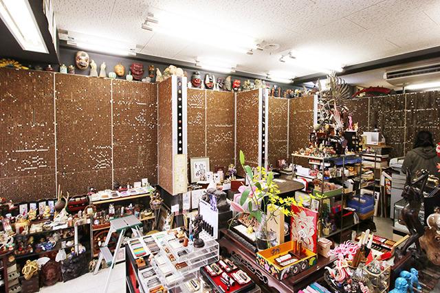 店の壁=印鑑。
