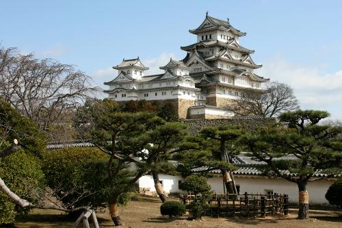 天守をはじめ、数多くの建物が残る「姫路城跡」