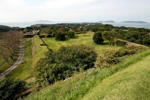 豊臣秀吉が朝鮮出兵の拠点とした築かせた「名護屋城跡」
