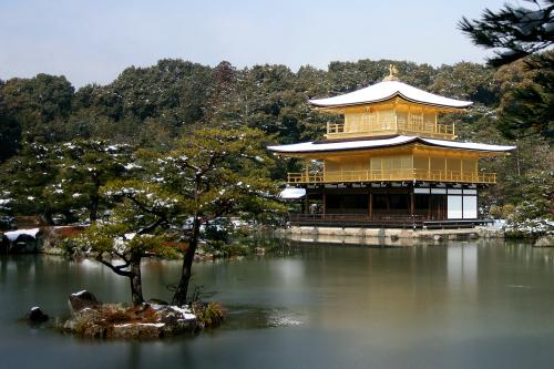 京都観光の定番、北山文化の代表格「鹿苑寺(金閣寺)庭園」