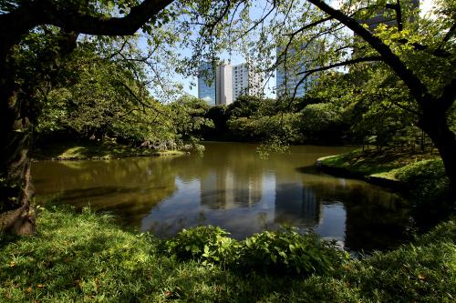 東京ドームのすぐ側に位置する「小石川後楽園」。水戸黄門こと徳川光圀が完成させた大名庭園