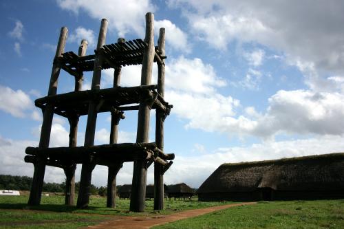 縄文遺跡の代表格、青森県の「三内丸山遺跡」