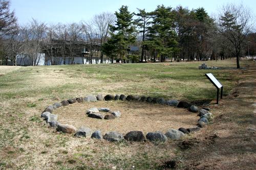 「尖石石器時代遺跡」は遺跡自体は地味だけど、尖石縄文考古館で見られる二つの国宝土偶が素晴らしい