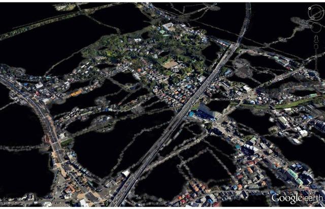 これも石川さんから頂いた画像。深大寺付近。