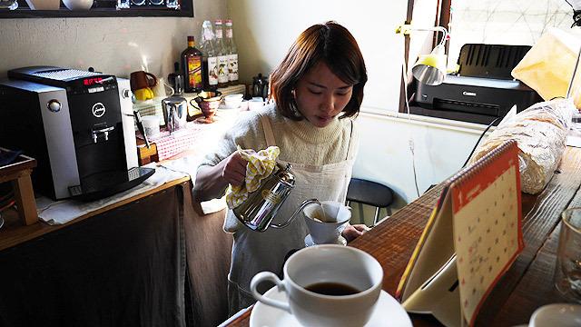 オーナーの青柳智子さん