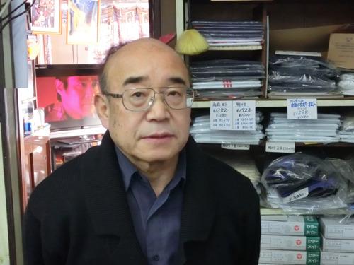 榎本光博さん。68歳