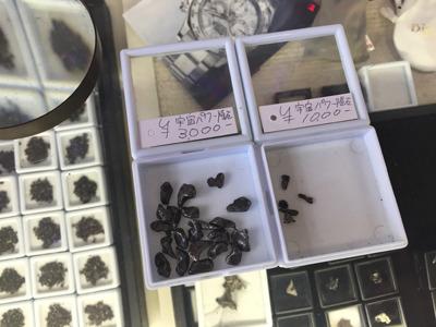なので今回は3000円の隕石で手を打つことにしました