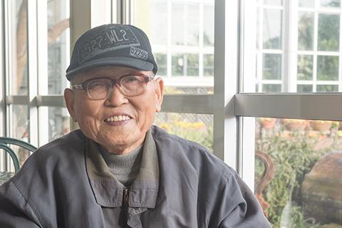 碧南市の無形文化財でもある鳥居慶昭さん(86)