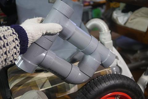 これが自転車のボディ。一見スーパーマリオのボーナスステージのようだ。そして二度見してもその思いはかわらない