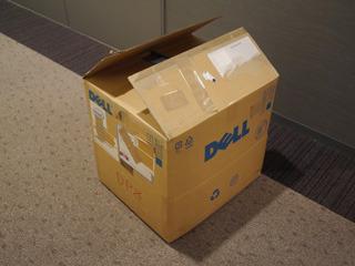 DELLの箱
