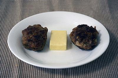 チーズbetweenハンバーグ