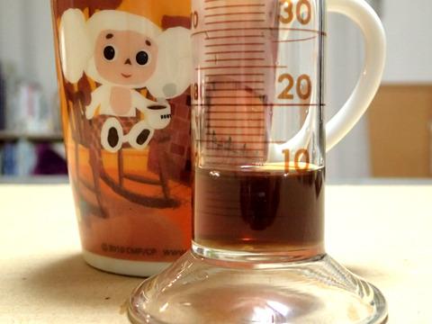 突沸力は9mL。コーヒーライフには注意が必要である。
