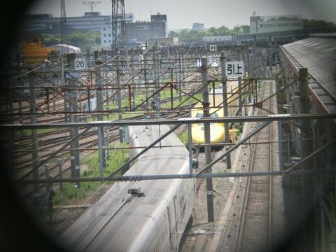 黄色い新幹線(700系)(サントス散歩乗り物がいっぱい編より)
