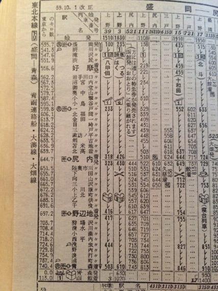 はくつるは6時10分青森駅に到着、6時30分発の青函連絡船に接続している
