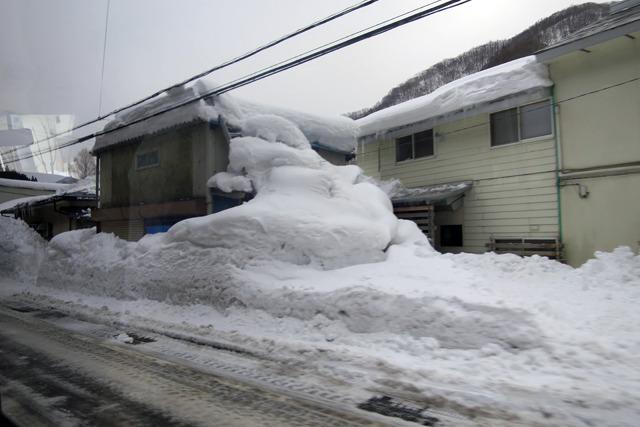 みなかみは雪深かった