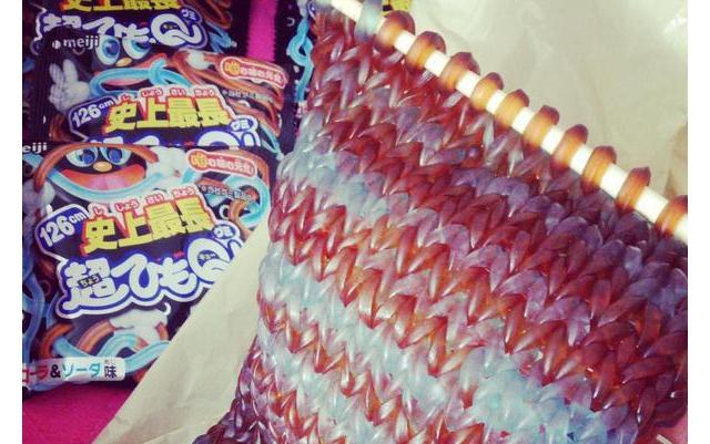 編みこまれたひもqが美しいおれたちグミ部 デイリーポータルz