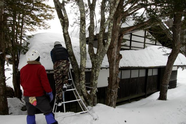 次の家もまた雪の量が半端ない
