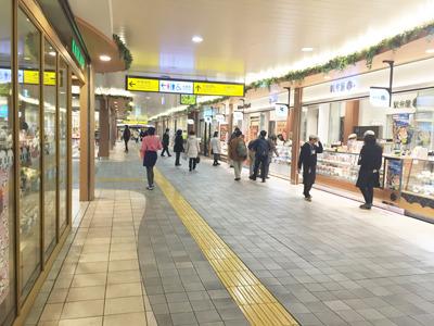 まずは上野駅にやってきた