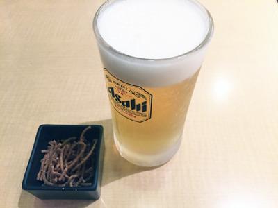 ビールをつけても1000円以内