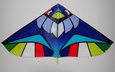 一口に凧と言っても色々あるが、ツバクロエイは特にこの手の製品に似ている。シルエットが。