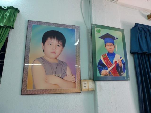 実はさっきから気になっていた、アンちゃんのいとこの息子、ベト君(13)の写真。