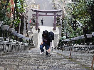 愛宕神社は階段もすごかった!