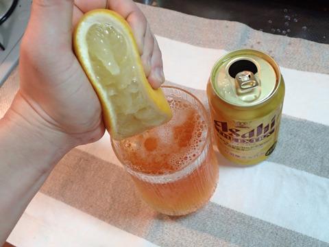 メジャービールでいちばん度数の強いアサヒ・エクストラを使用。