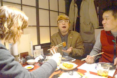 3人、最後までずっとちゃんとおいしそうに食べていて、すごいコントロール能力だと思った