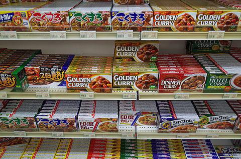 小値賀のスーパーはカレー推し。