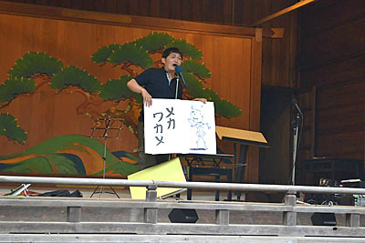 歌ネタ王決定戦2代目王者となった手賀沼ジュンさんも破格の条件で第1回、第2回と出演していただきました。ありがとうございます。
