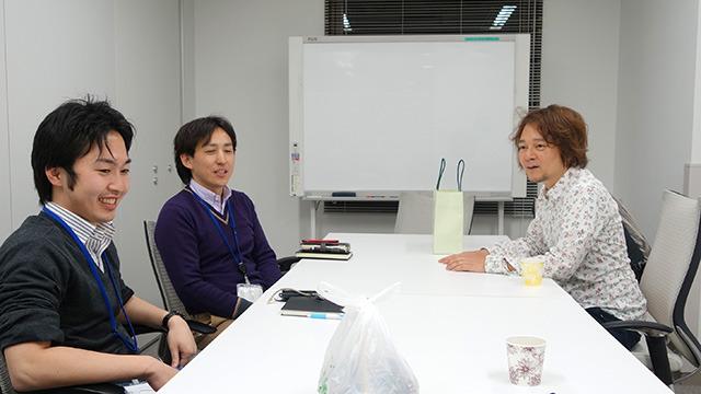 スカパー!中嶋さん(左)、廣井さん(右) 弁当をプレゼンする日が来ようとは